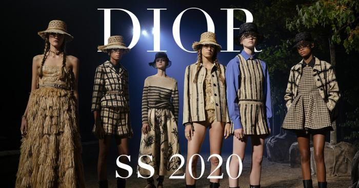Dior Spring/Summer 2020 fashion show PFW paris fashion week style designer Maria Grazia Chiuri