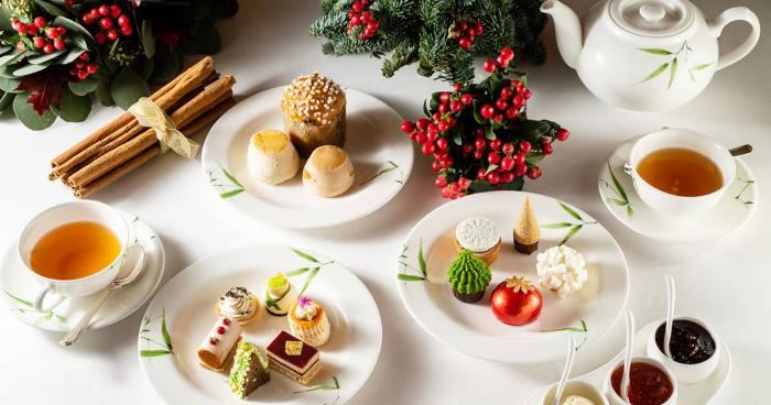 คริสต์มาส์ new year 2020 festive afternoon tea holiday cuisine dessert bakery