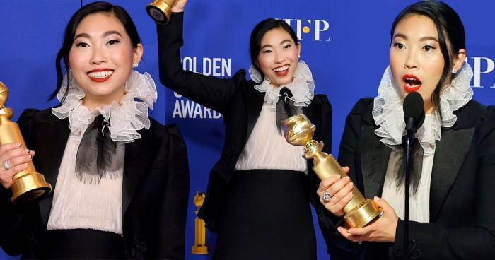 Awkwafina Best Actress Golden Globes 2020
