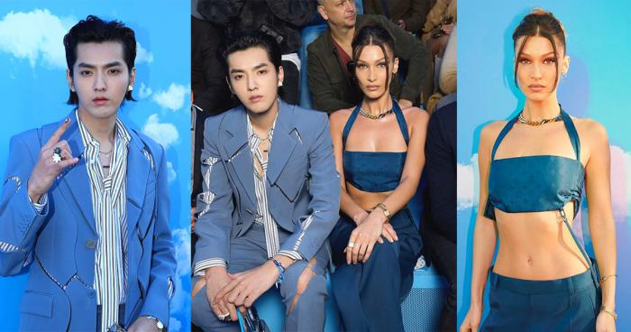 Celebrity Style,Louis Vuitton,Bella Hadid,Fashion,Kris Wu