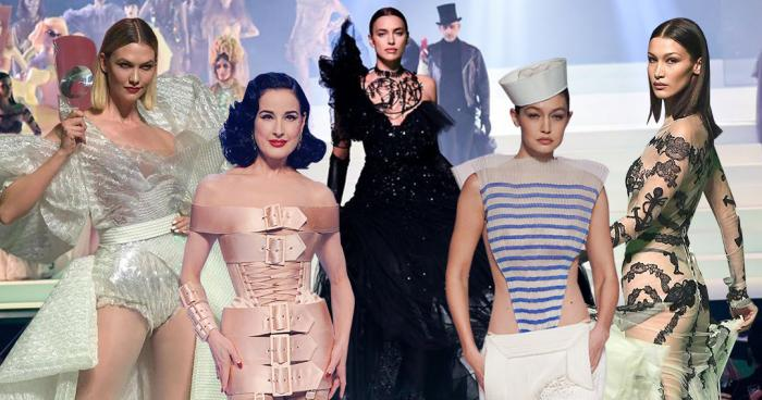 Runway,Haute Couture,Fashion,Jean Paul Gaultier,Celebrities