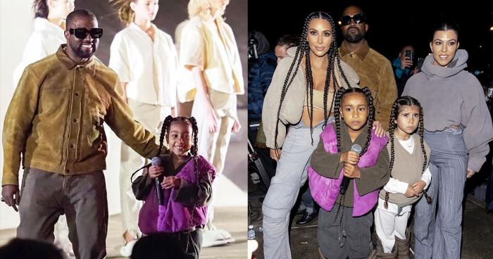 North West Kardashian Yeezy Season 8 Kanye West Kim Kardashian