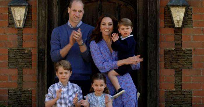 Prince William,Kate Middleton,Royal Family,Prince Charles clap for carers