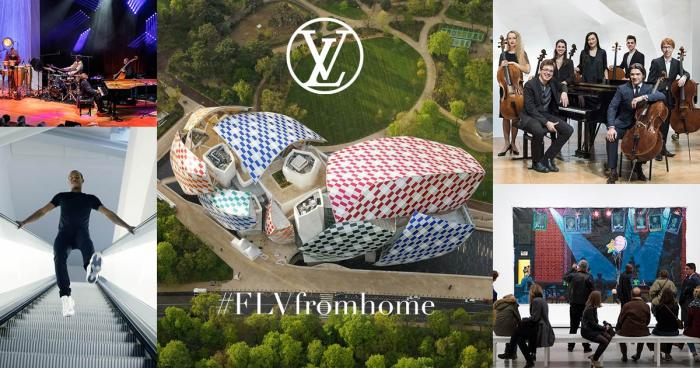 #FLVfromhome Louis Vuitton Fondation Louis Vuitton