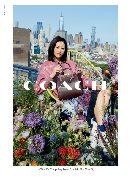 Liu Wen for coach fall 2019 campaign
