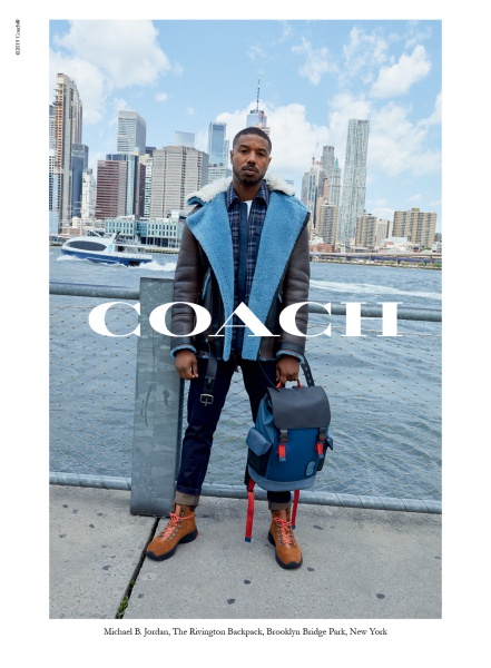 Michael B. Jordan for coach fall 2019 campaign