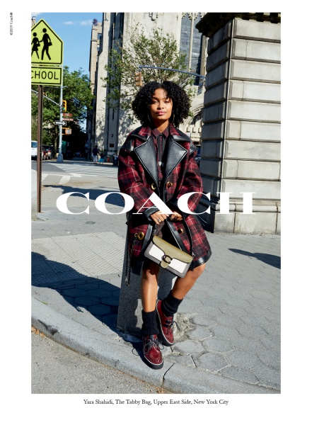 Yara Shahidi for coach fall 2019 campaign
