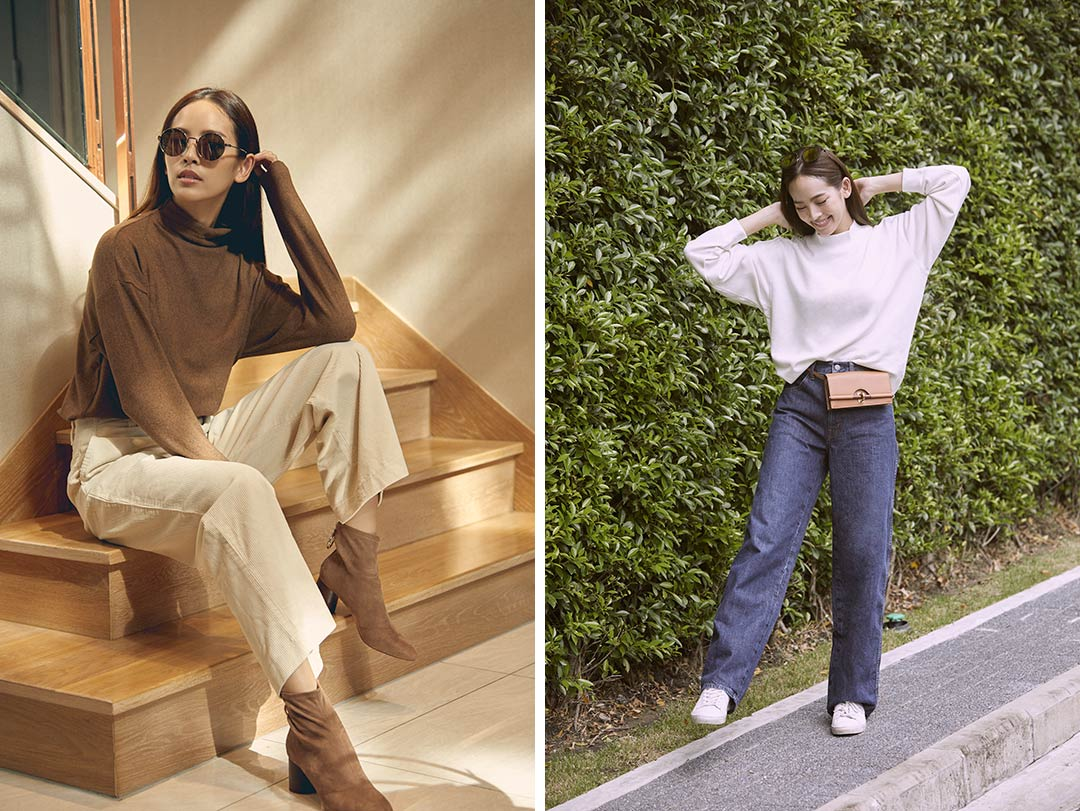 ณิชา UNIQLO Effortless Chic
